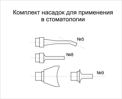Насадки для применения в стоматологии