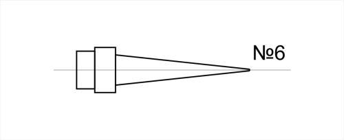 Насадка для лазерной рефлексотерапии